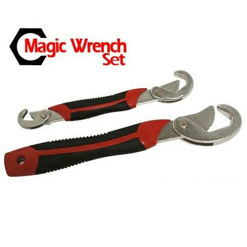 harga Multifunction magic wrench / kunci pas serbaguna - black/red Tokopedia.com