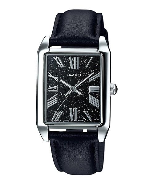 harga Casio analog jam tangan pria hitam kulit mtp-tw101l-1a original Tokopedia.com
