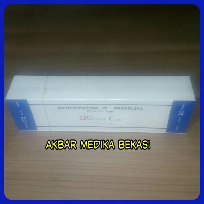harga Gelang pasien identification id bracelets write on type Tokopedia.com
