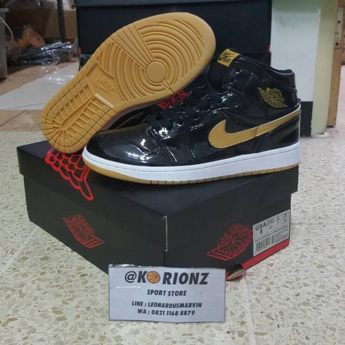 ... harga Sepatu basket nike air jordan 1 bred Tokopedia.com cda7eb1d18