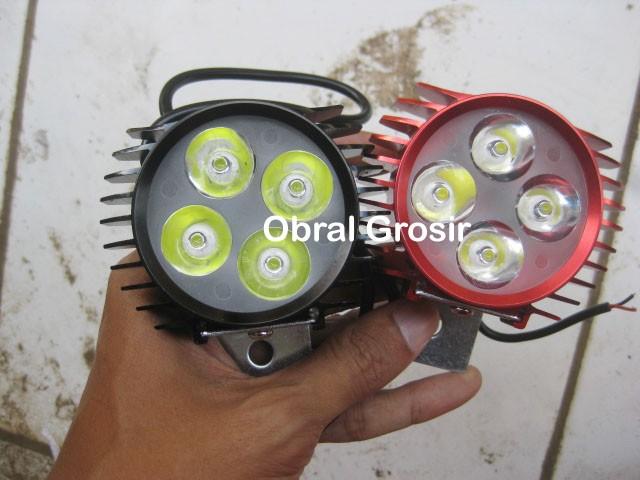 harga Lampu sorot depan tembak led 4 mata titik cnc outdoor waterproof slim Tokopedia.com