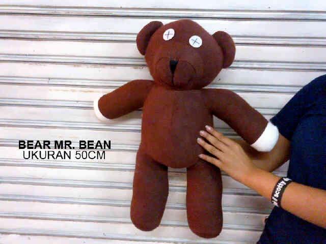 harga Boneka Teddy Bear Mr. Bean Uk.50cm Tokopedia.com