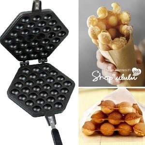 harga Egg waffle maker cetakan wafel / bapel hongkong alumunium lapis teflon Tokopedia.com