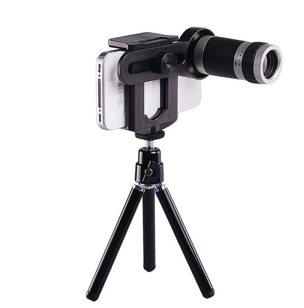harga Mobile phone telescope / teropong tripod 8x zoom Tokopedia.com