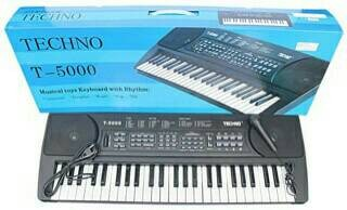 harga Piano/keyboard techno t5000 Tokopedia.com