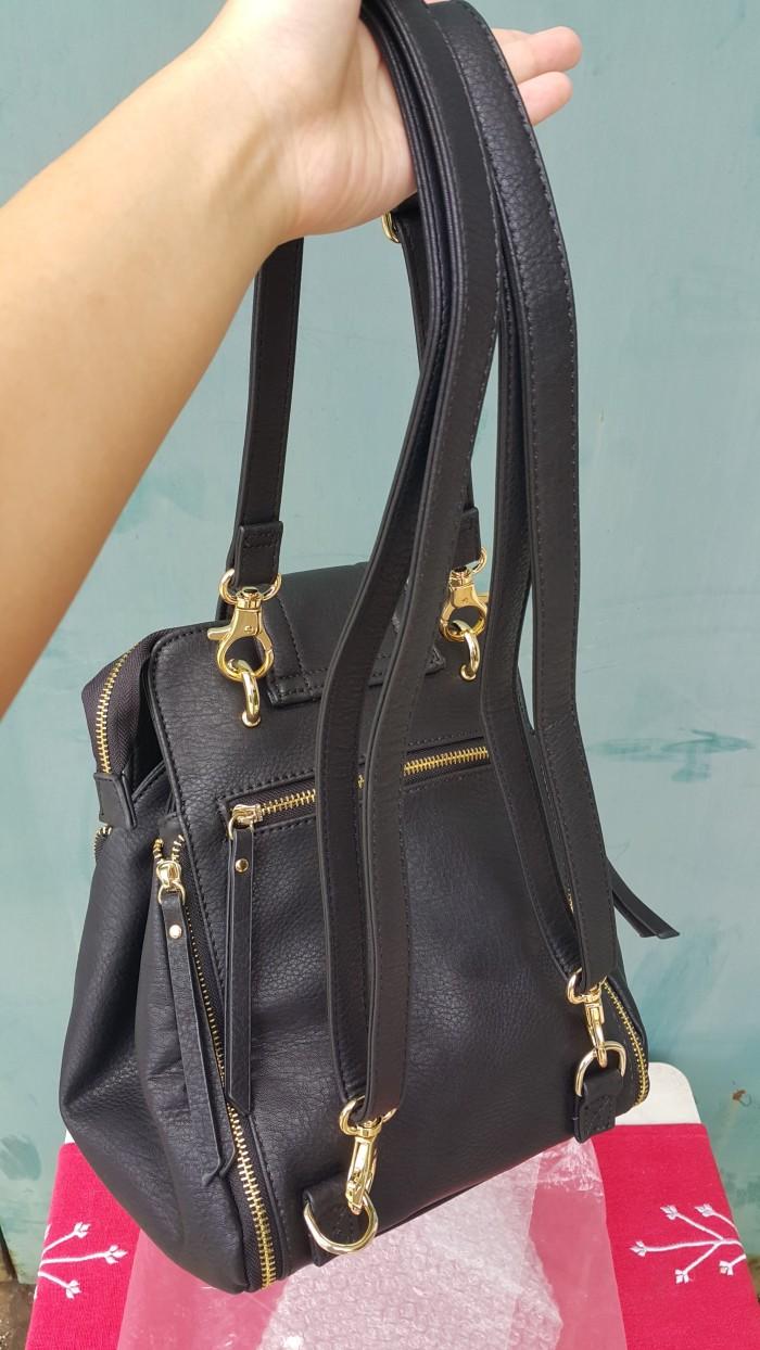 Jual Tas Xsml 3 Fungsi Shoulder Sling Backpack Freesia Shop Kulit 2 Bag