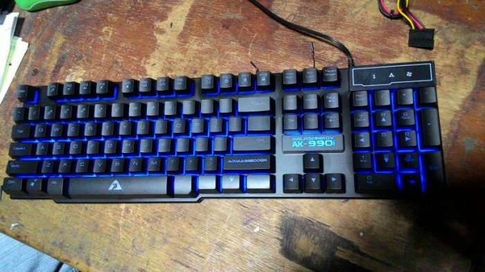 ARMAGGEDDON KALASHNIKOV AK 990I GAMING KEYBOARD 21zoom Source · 3 Backlight Color ARMAGEDDON AK 990i Profesional