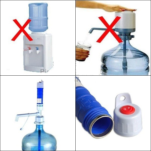 Pompa Galon Elektrik pakai Baterai Minum Electric Water Pump Dispenser .