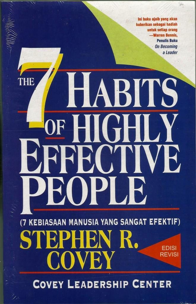 harga Stephen r. covey - the 7 habits of highly effective people Tokopedia.com