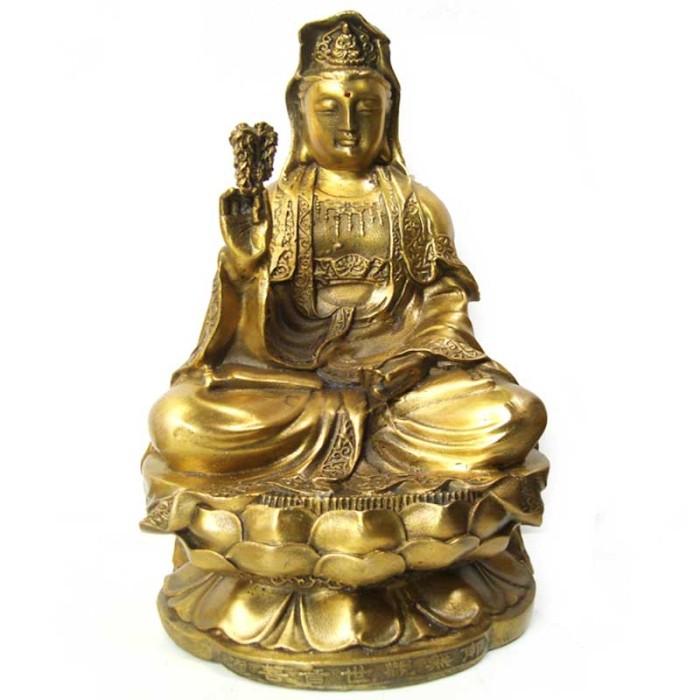 harga Pajangan / patung / dewi kwan im / patung dewi kwan im 3239 abkuningan Tokopedia.com
