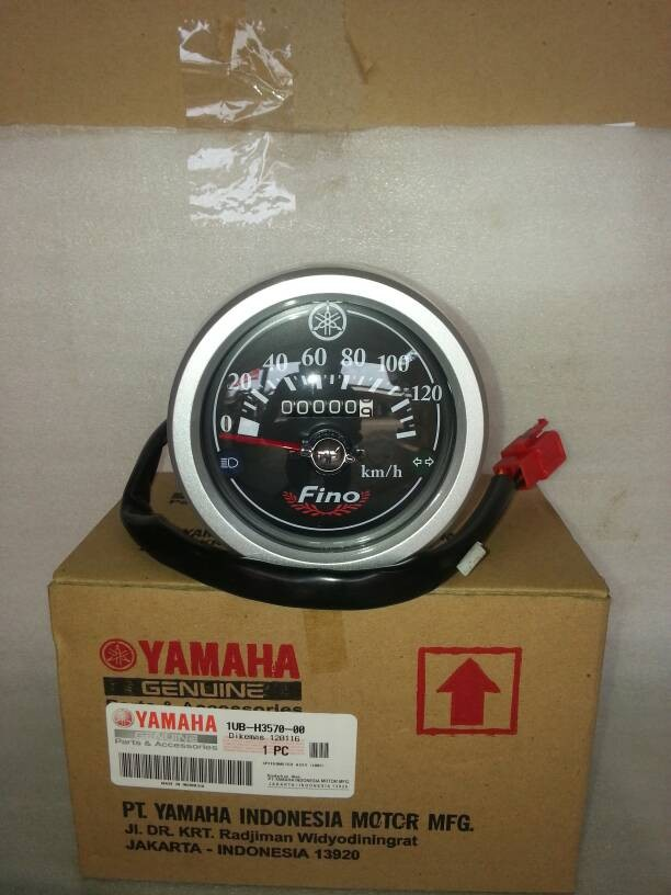 harga Speedometer Fino Karbu Silver  1ub-h3570-10 Ori Yamaha Tokopedia.com