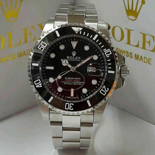 Jual Rolex Submariner Sapphire Ceramic Bezel Silver Automatic Harga Rp 890.000
