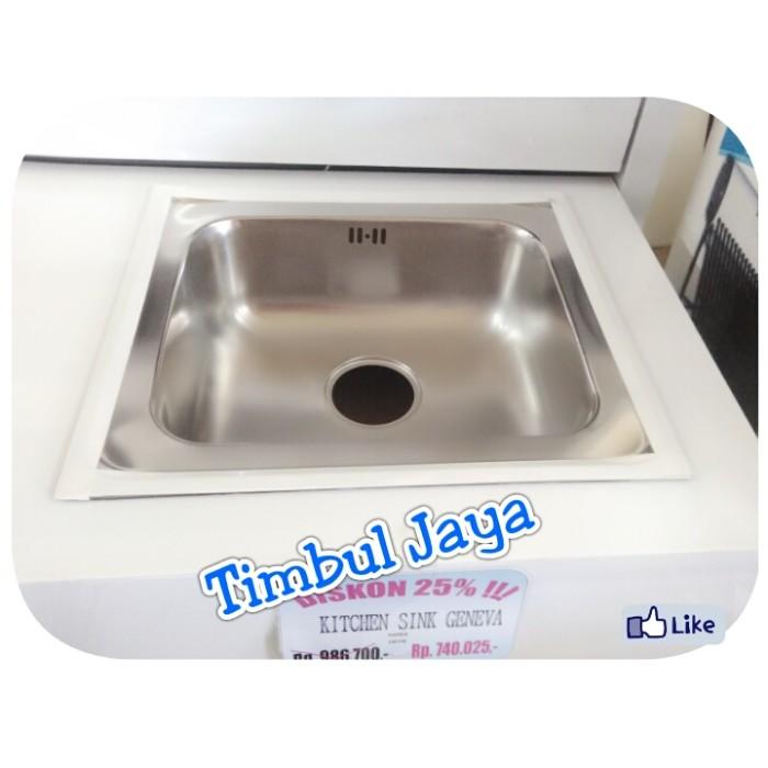 Jual Kitchen Sink Geneva Merk Hafele