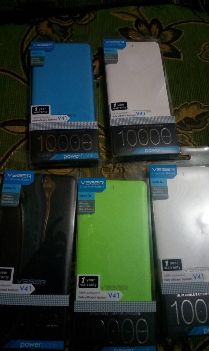 Jual Powerbank Veger 10000mah Real Bandung Zx Cell Tokopedia 10000 Mah Slim