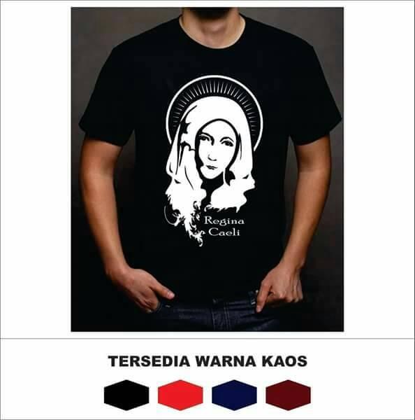 harga Kaos rohani regina caeli ( ratu surga ) cotton combad Tokopedia.com