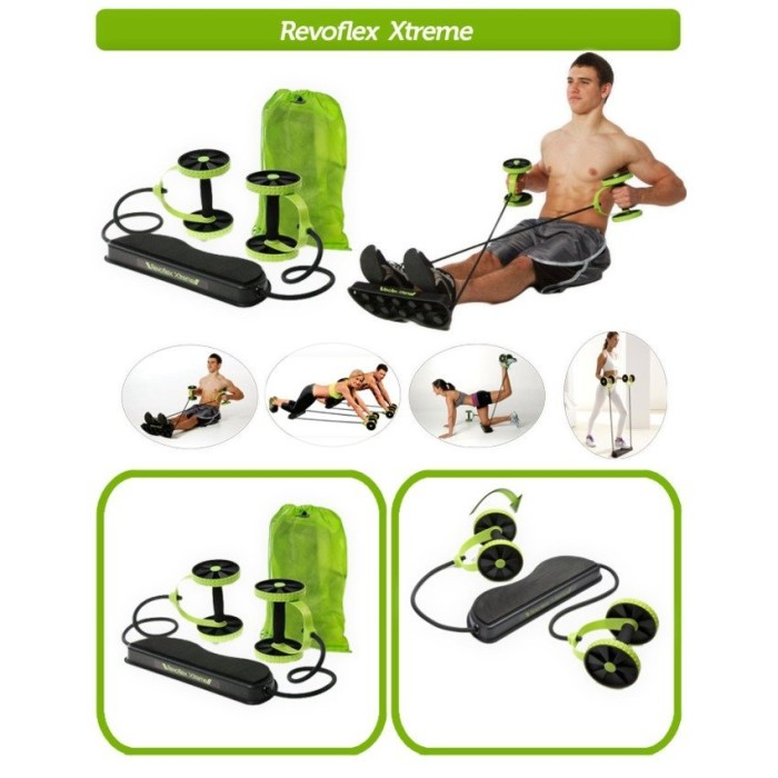 harga Alat fitnes sehat pembentuk otot perut sixpack revoflex xtreme Tokopedia.com