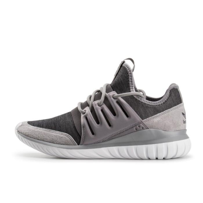 42ab083bce3b5b ... wholesale sepatu casual adidas tubular radial grey original aq6726  91617 fb0cb