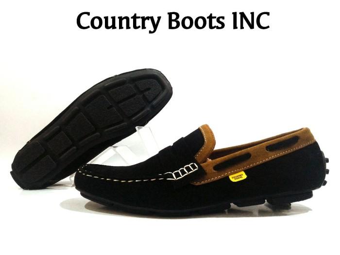 harga Sepatu santai kerja slop casual pria - country boots 001 Tokopedia.com