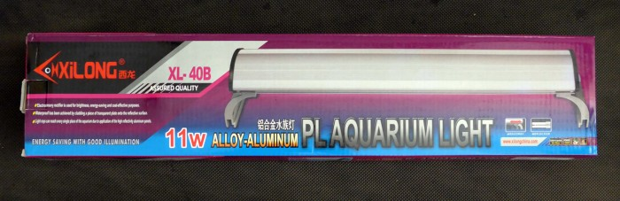 harga Lampu aquarium / xilong pl aquarium light  11 w  - xl-40b Tokopedia.com