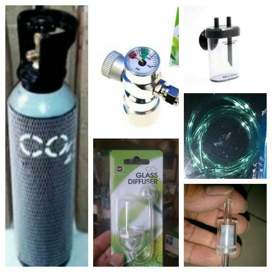 harga Aquascape - paket tabung co2 5kg + omnibus + glass diffuser Tokopedia.com