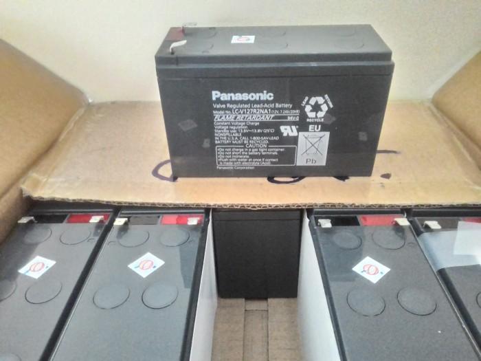 harga Aki (baterai) vrla ups kering (mf battery) panasonic 12 v 7 ah Tokopedia.com