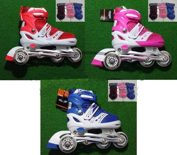 harga Sepatu roda bajaj / inline skate power + dekker sepatu roda Tokopedia.com