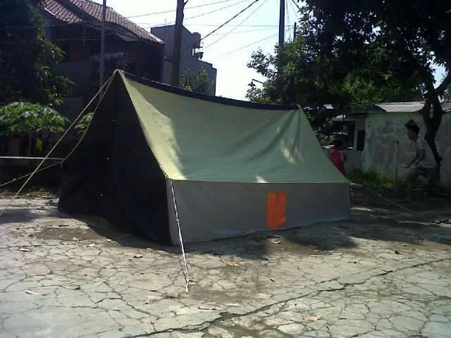 harga Tenda pramuka regu kap 10 siswa/ 8 dewasa bahan dakota Tokopedia.com