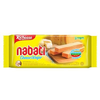 Richeese Nabati 145gr Cheese Wafer Krim Keju Makanan Ringan Sehat