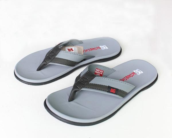 Jual Sandal Jepit Pria DC Silver (Indoor 6f16646147