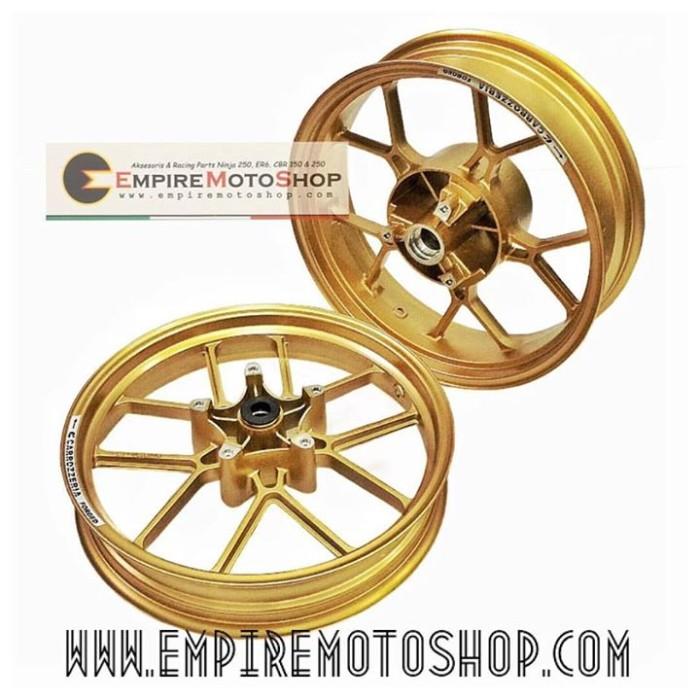 harga Velg carrozeria ninja 250 fi / z250 gold matte Tokopedia.com