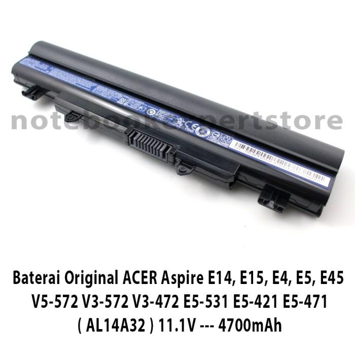 harga Baterai ori acer aspire e14 e15 e4 e5 e45 v5-572 v3-572 v3-472 Tokopedia.com