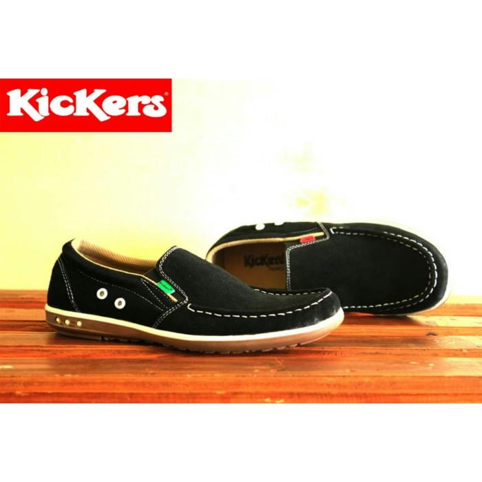 Jual Kickers Sepatu Pria Kulit Terbaru jenis casual santai slop ... 6db8a47c19
