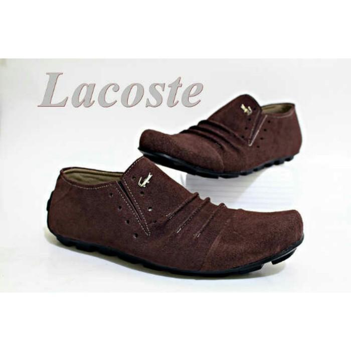 Jual Sepatu Crocodile Lacoste terbaru kulit pria asli - toko sepatu ... 2bbb0a4c05