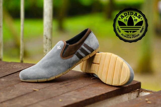 Sepatu Casual Pria Terbaru Adidas Platinum Bloes Slip On Loafers Dc4 0cafc3a3c6