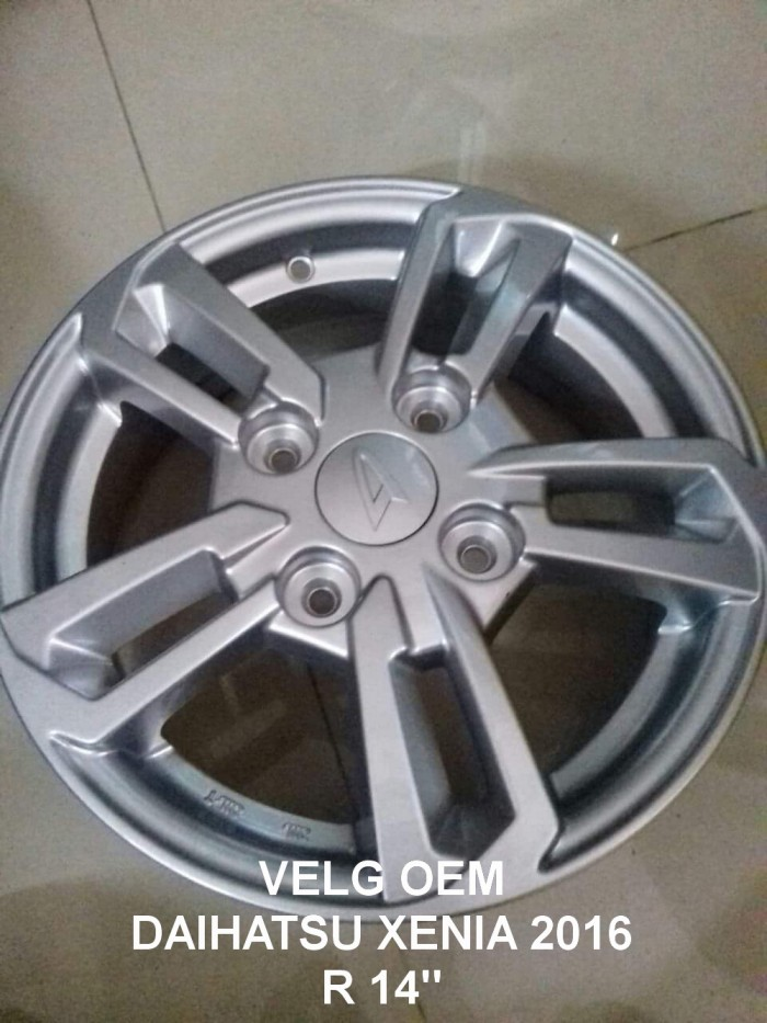 Jual Velg Oem Daihatsu All New Xenia Type R Sporty Ring 14 ...