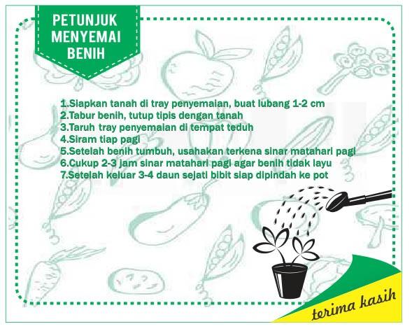 Foto Produk Gratis Bonus Petunjuk Menyemai dan Pranata Mangsa dari mewalik-jaya