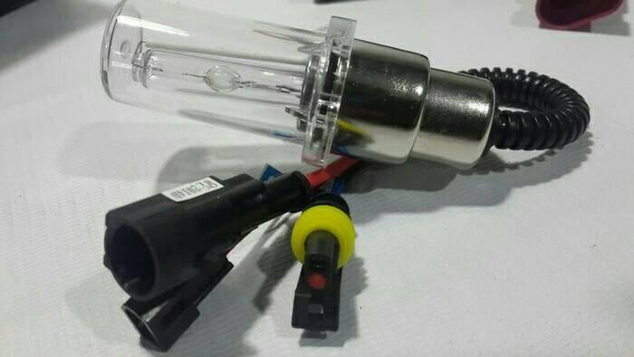 harga Bohlam only lampu hid motor universal h4 h6 hs1 35w 4300k 6000k 8000k Tokopedia.com