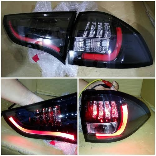 harga Mb368-b7bc4-rb stoplamp pajero sport 09-14 led bar red strip black Tokopedia.com