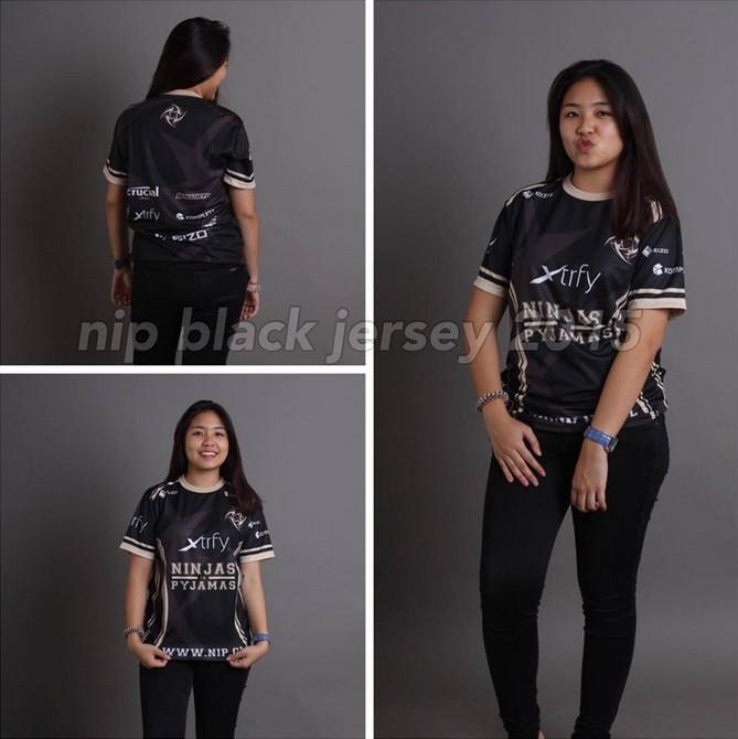 Kaos Gaming - Jersey NIP black 2016