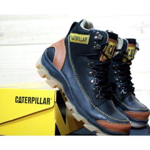 Jual Sepatu Safety Pria Murah Caterpillar Mbc Ujung Depan Besi B11 ... b21c803803