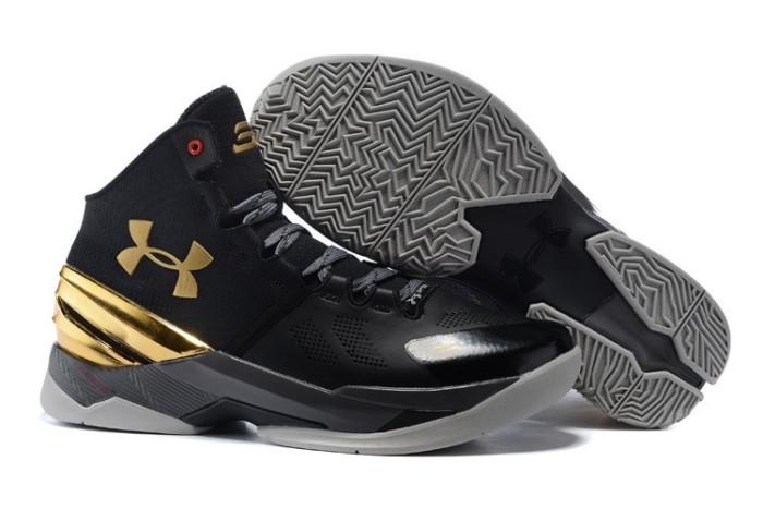 108e0f1d2a8e Jual sepatu basket under armour curry 2 black carbon Harga MURAH ...