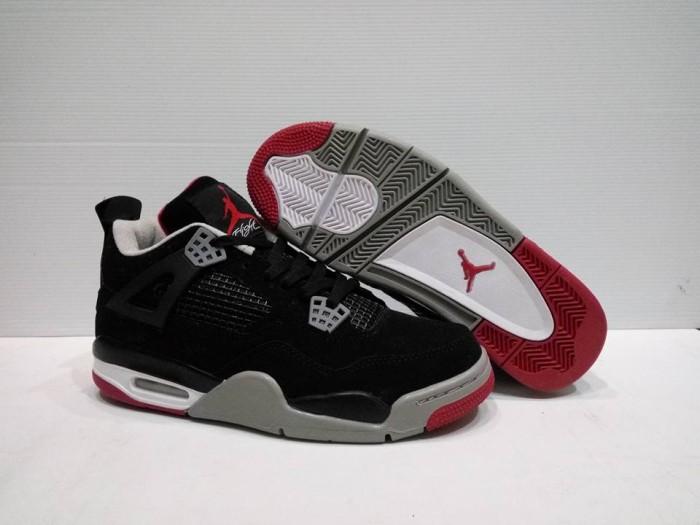 Jual Sepatu basket jordan 4 bred black - Ganda Sport  55551dc0eb