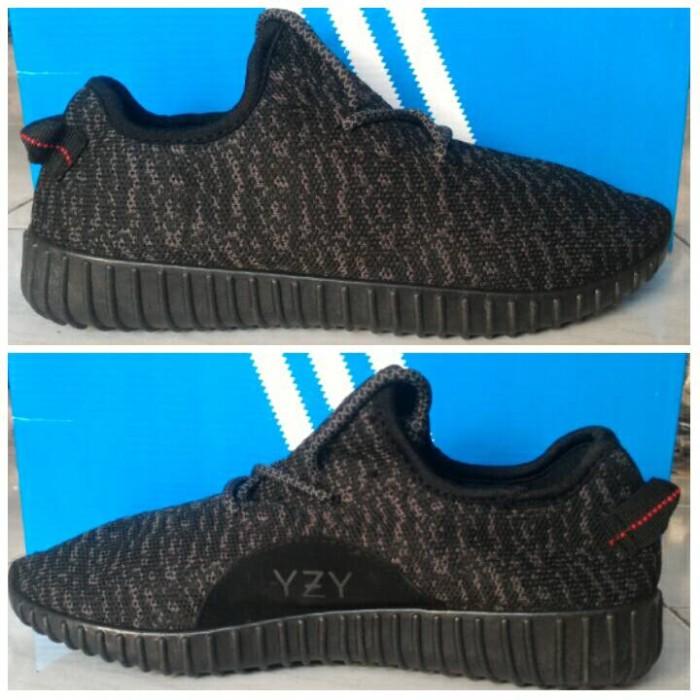 Jual Sepatu Adidas Yeezy Boost Men Black Hitam - Demanda Sepatu ... 0db15656e6