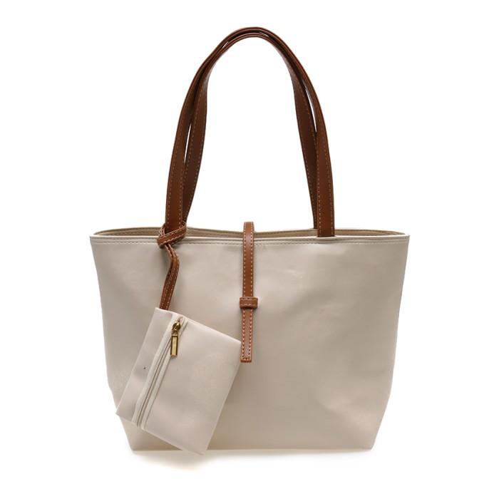Zada Tote Bag with Mini Pouch