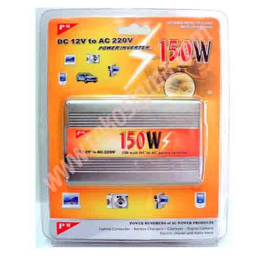 harga Lighter power inverter dc 12v to ac 220v - 150w Tokopedia.com