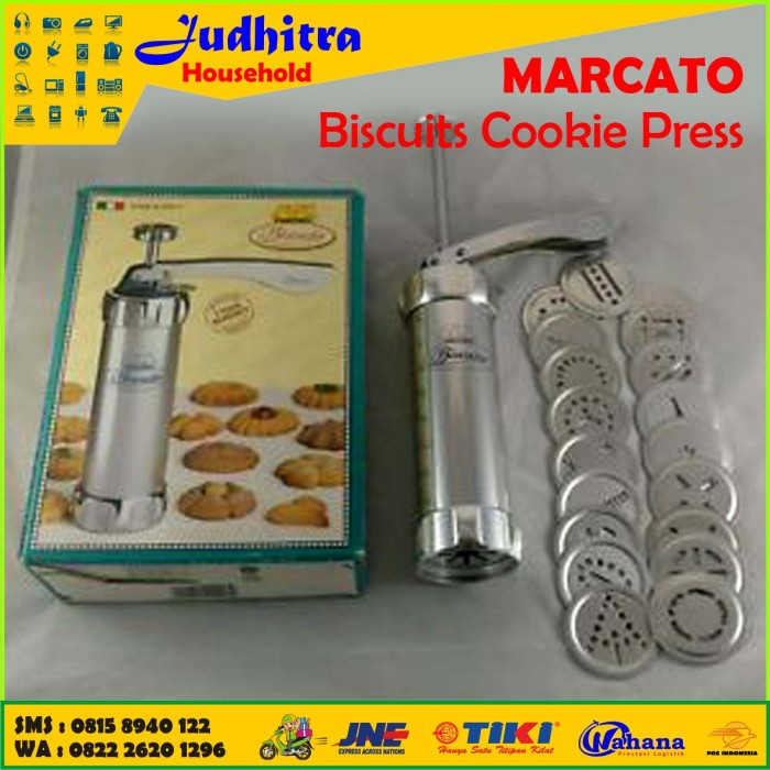 MARCATO Biscuits Cookie Press / Cetakan Kue