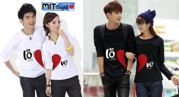92 Foto Baju Couple Kaos Panjang Paling Bagus