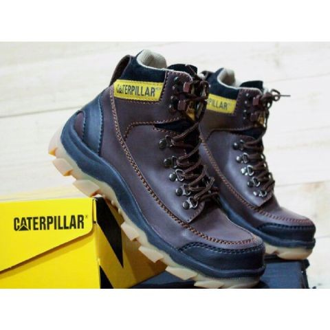 Jual Sepatu Safety Pria Murah Caterpillar Mbc Ujung Depan Besi B12 ... 0d11ddd9db