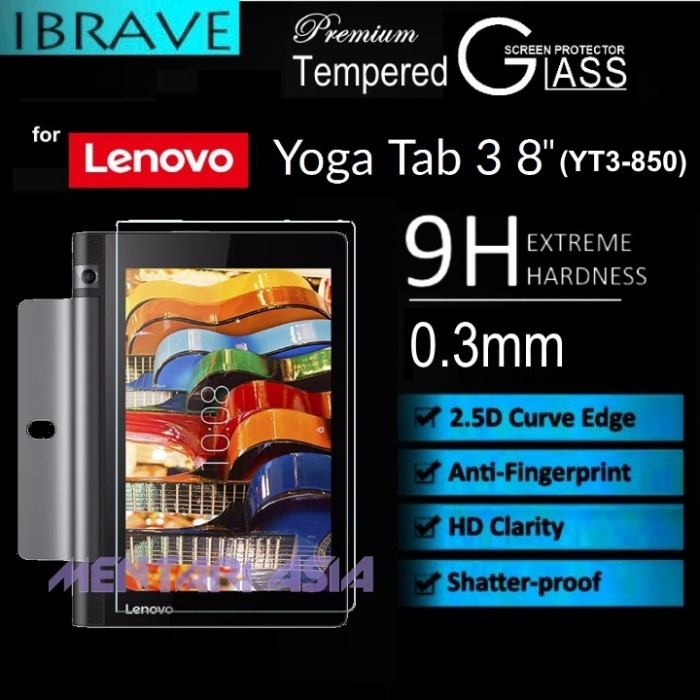 harga Tempered glass for lenovo yoga tab3 8  (yt3-850) Tokopedia.com