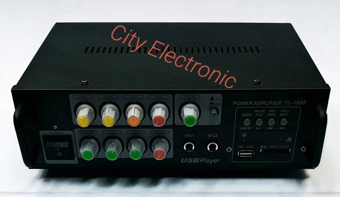 harga Amplifier mixer tl-1688 with usb/sd card mp3 digital player Tokopedia.com